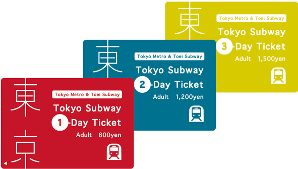 Japanese in Tokyo subway ticket prices.