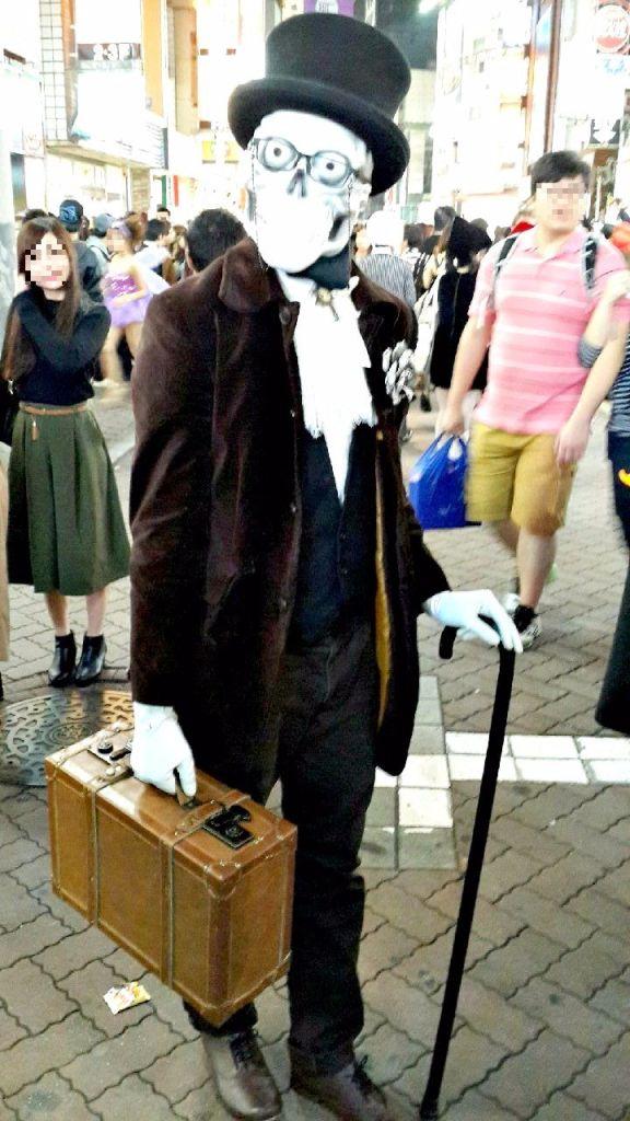 บรรยากาศฮาโลวีน2015ที่ญี่ปุ่น