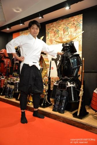 ชุดเกราะดำ เจ้าเมือง Sendai นามว่า Date Masamune