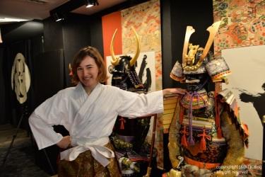 ชุดเกราะทอง Oyoroi ของท่าน Toyotomi Hideyoshi เจ้าแห่งซามุไร